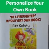 A personalized fire safety book