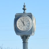Prairie Path Clock