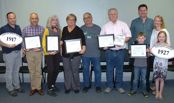 Historical Preservation Award Winners