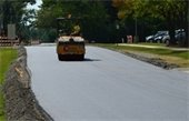 High Ridge Road paving