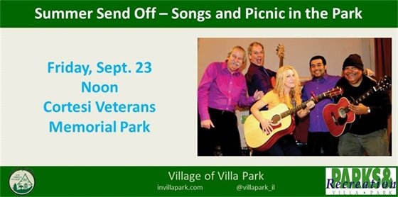 Summer Send Off: Songs and Picnic in the Park