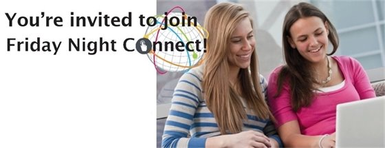 Friday Night Connect banner