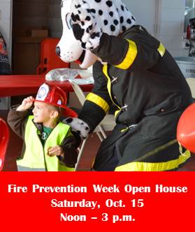 Fire Prevention Week Open House 2016