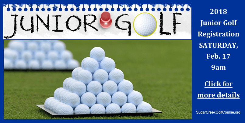 Click for Junior Golf Registration