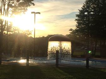 Jefferson Pool Sunset