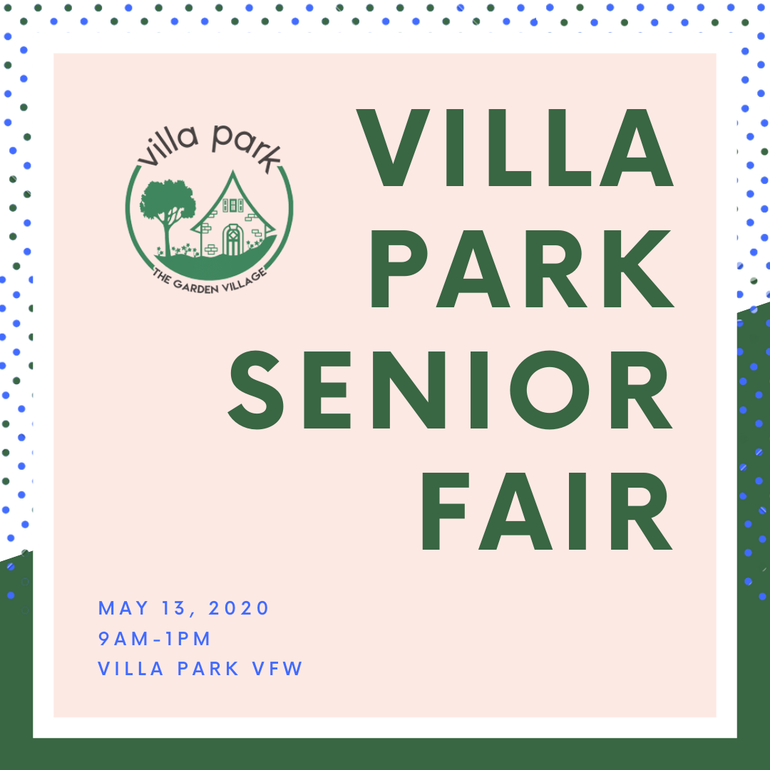 Villa Park Senior Fair 2020