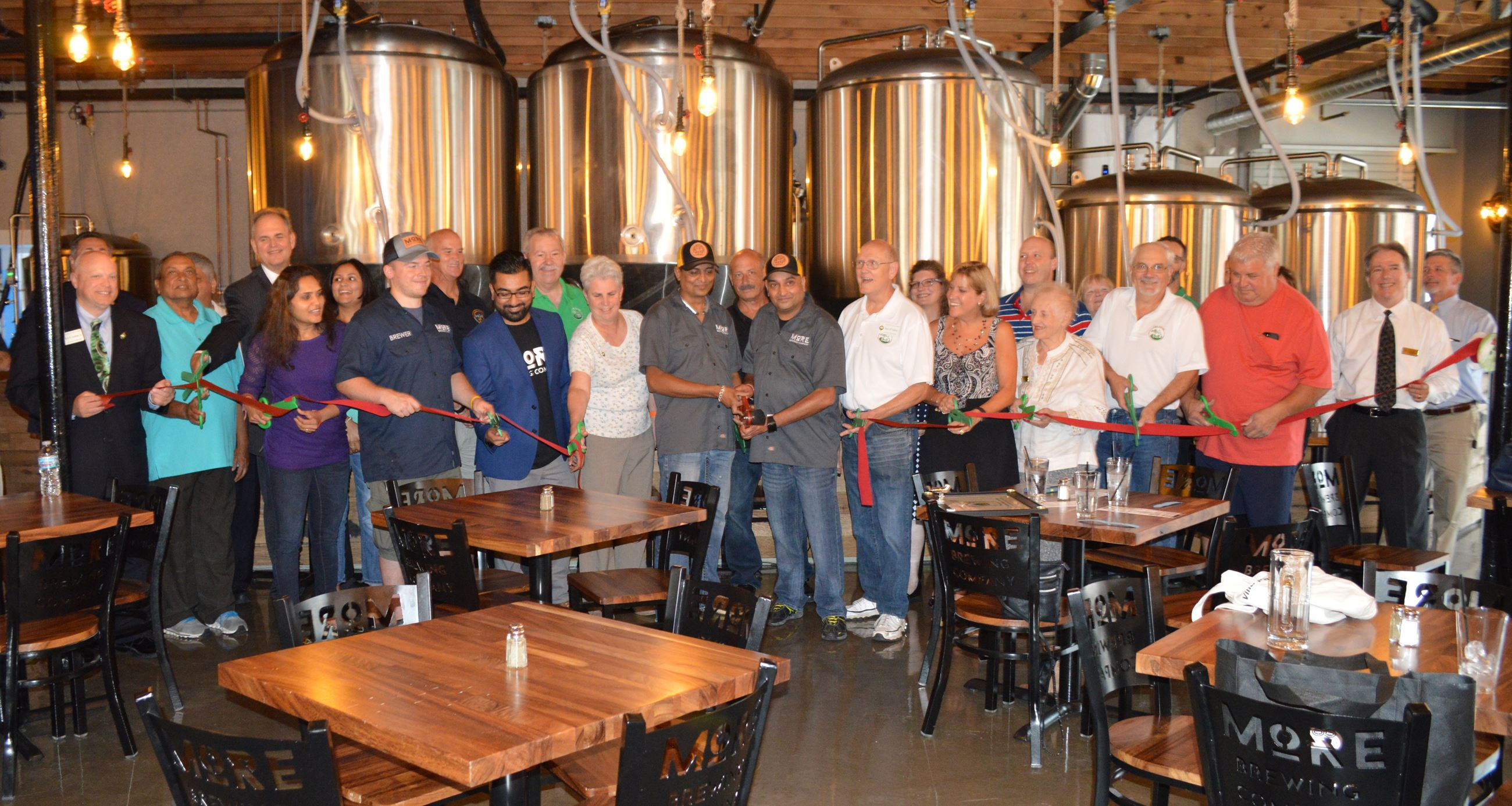 More Brewing Company Ribbon Cutting