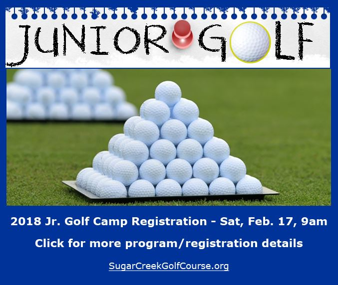 2018 Junior Golf Registration