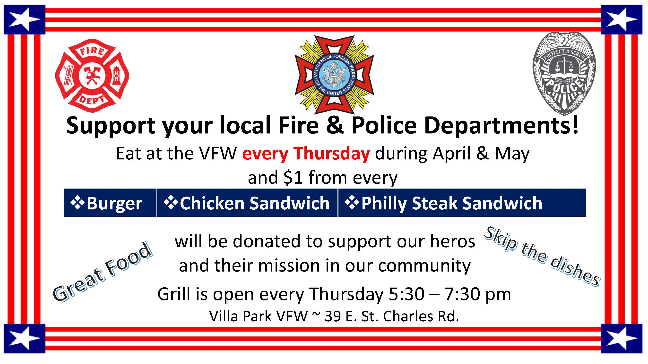 Give Back Thursdays FD PD