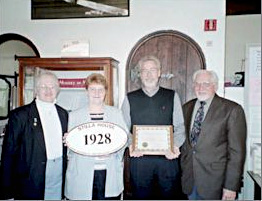 2003 Historic Preservation Award Recipients
