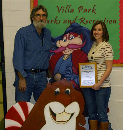 Candy Land Volunteers with Special Plaque