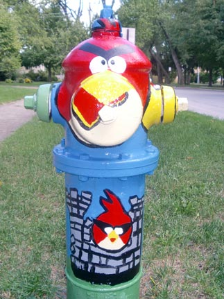 Angry Birds - Highland and Myrtle