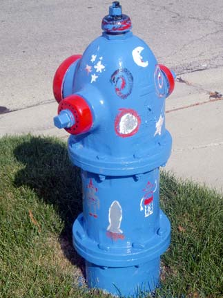 Space Hydrant - Highland and Illinois (2)
