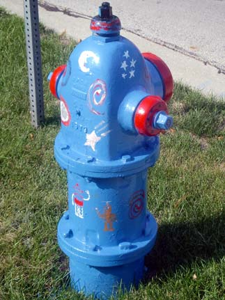 Space Hydrant - Highland and Illinois (3)