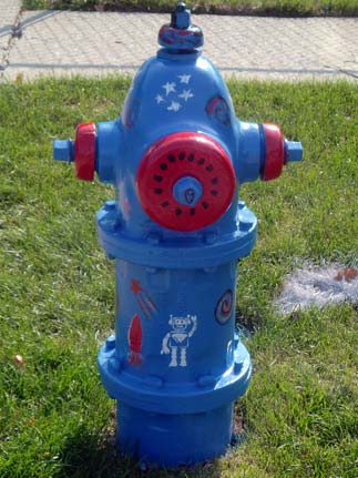 Space Hydrant - Highland and Illinois