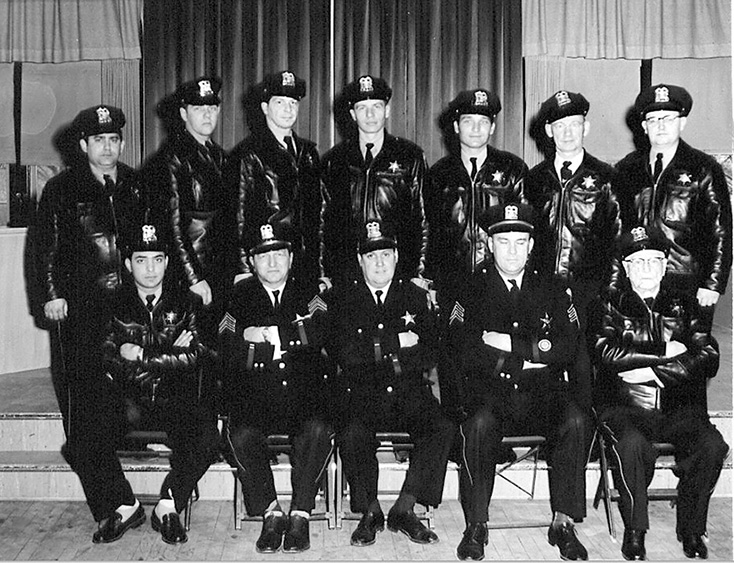 1950s PD Group Photo