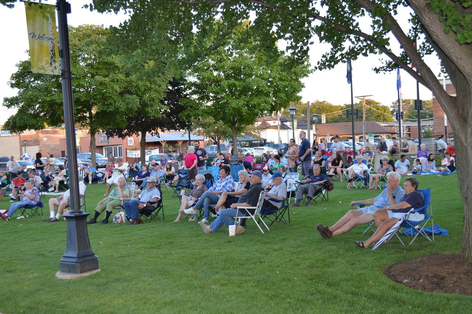 Community members packed Cortesi Veterans Memorial Park to enjoy Zydeco Voodoo Aug. 25, 2016.