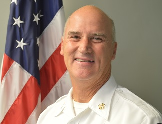 Villa Park Fire Chief Ron Rakosnik