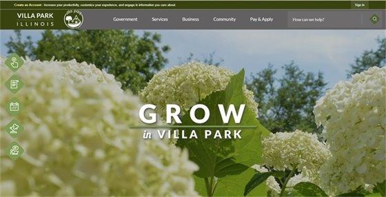 Homepage of Invillapark.com