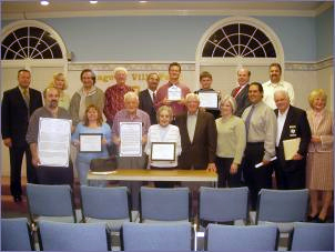2006 Historic Preservation Award Recipients