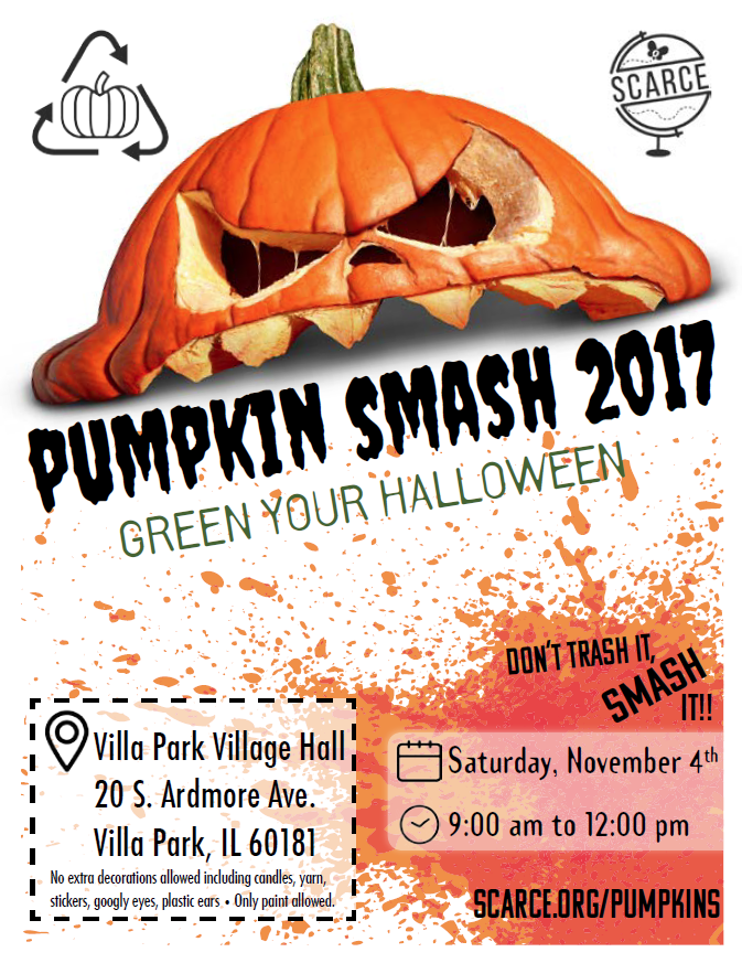Pumpkin Smash flier
