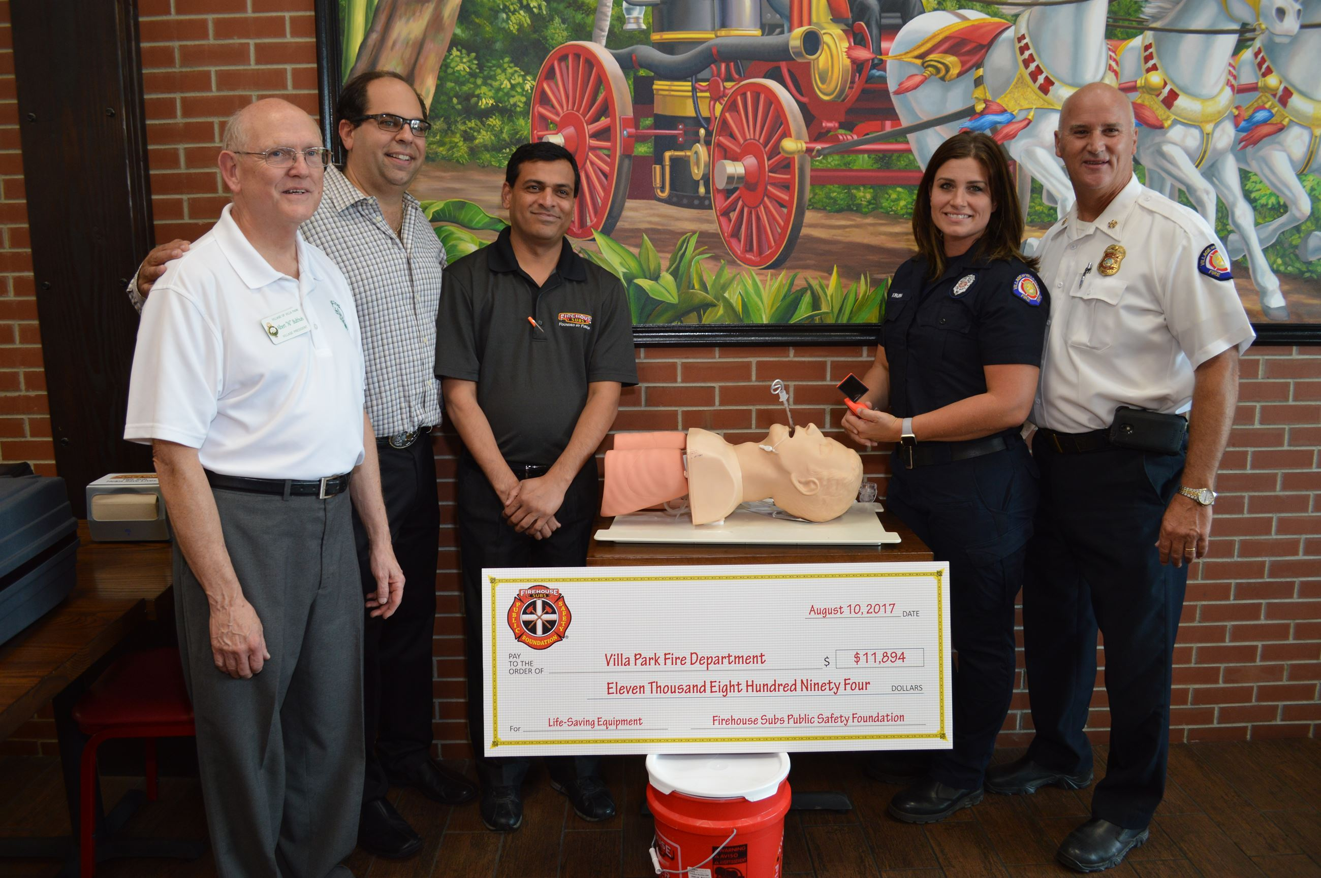 Firehouse Subs Grant Presentation